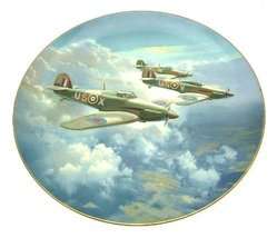 Coalport The Hurricane Plate 1987 Frank Wootton collector plate - Limite... - $84.28