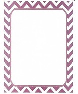 Purple Chevron Stationery Printer Paper 26 Sheets [Office Product] - $9.89
