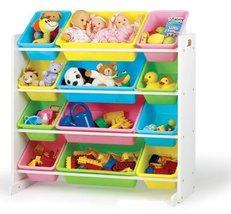 Tot Tutors Toy Organizer Storage Bins, Pastel [Kitchen] - $85.59