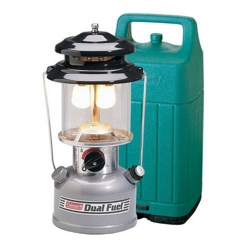 Coleman Premium Dual Fuel(TM) Lantern with Hard Carry Case [Sports]