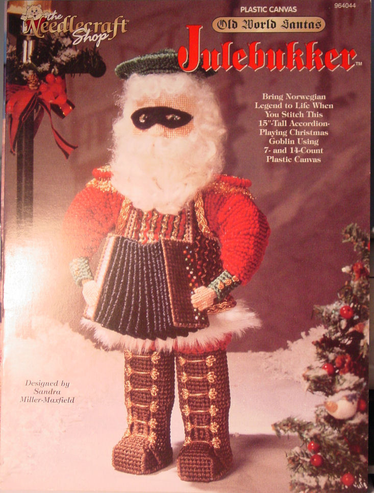 Primary image for Pattern Plastic Canvas Old World Santa - Julebukker - Norwegian