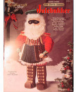 Pattern Plastic Canvas Old World Santa - Julebukker - Norwegian - $5.50