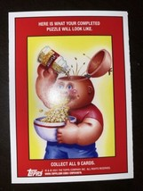 2021 Topps Garbage Pail Kids Food Fight Base Card Snack Attack Jack #25b Gpk - $2.85