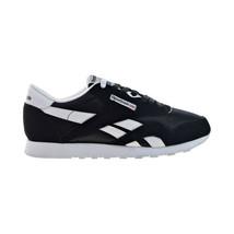 Reebok Classic Nylon Women's Shoes Black-White 6606 - $50.05