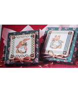 BUNNY/BEAR 6509 CROSS STITCH FABRIC BOXES KIT - $10.99