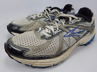Brooks GTS 10 Men's Running Shoes Size US 9.5 M (D) EU 43 White 1100691D415