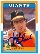 Jack Clark autographed baseball card 2001 Upper Deck Decade #71 (San Fra... - $16.00