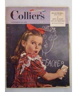 Collier's September 25, 1948 Complete Original Magazine - $9.99