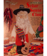 Pattern Plastic Canvas Old World Santa - Senor Santa Claus -  Mexico - $5.50