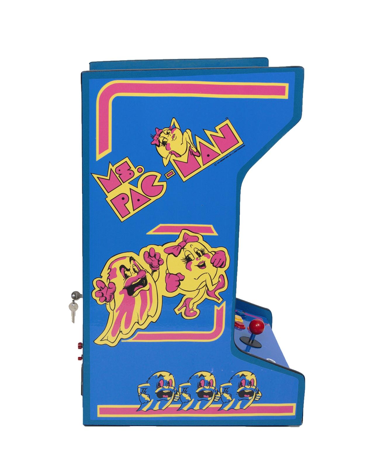 ms pacman arcade machine