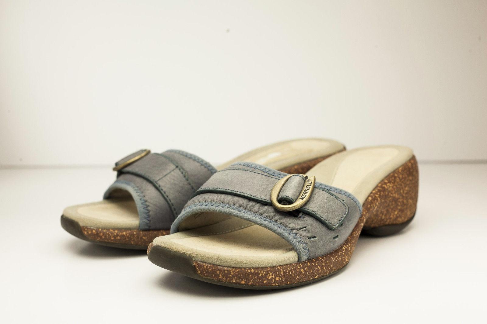 Merrell 5 Blue Slide Sandal Women's Shoe - $36.00