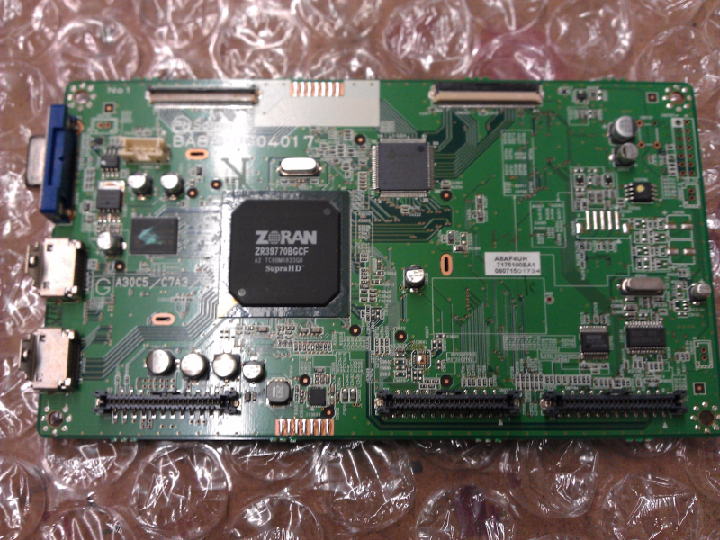 1ESA17390 A8AF4UH Digital Main Board From Sylvania LC320SS9A LCD TV