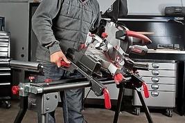 Craftsman Universal Miter Metal Saw Stand Rollers Adjustable Steel Wood ... - $123.70