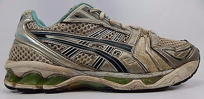 Asics Gel Kayano 14 Women's Running Shoes Size US 9 M (B) EU 40.5 White TN850