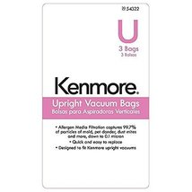 8 UltraCare Kenmore Style U Upright Vacuum Bags... - $12.73
