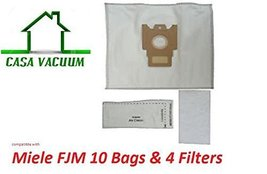 Miele FJM Vacuum Bags (10 Bags + 4 Filters) by ... - $15.67