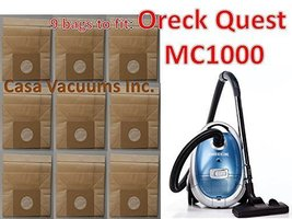 9 replacement Oreck MC1000 Quest Canister Vacuu... - $12.73