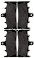 Kawasaki Disc Brake Pads ZR1200 2001-2008 Front (2 sets)