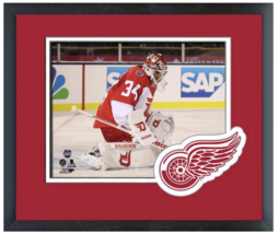 Petr Mrazek 2016 NHL Stadium Series -11 x 14 Team Logo Matted/Framed Photo - $43.55