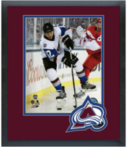 Jarome Iginla 2016 NHL Stadium Series -11 x 14 Team Logo Matted/Framed Photo - $42.95
