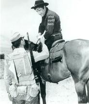 RICHARD BOONE ON HORSEBACK HAVE GUN WILL TRAVEL B/W PHOTO 8A-295 - $14.84