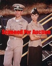 DAVID JAMES ELLIOTT CATHERINE BELL JAG 8X10  PHOTO 8I-322 - $14.84