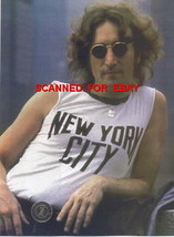 4F-084 JOHN LENNON COLOR PHOTO  - $19.78