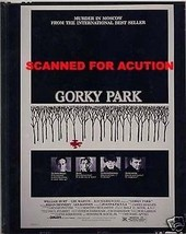GORKY PARK  ORIGINAL 8X10 TRANSPARENCY POSTER ART Lee Marvin Joanna Pacula - $24.74