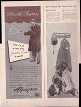Alpagora Double Dense Fabric Men's Coat 1942 Or... - $3.22