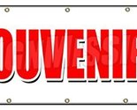 "48""x120"" SOUVENIRS BANNER SIGN memories discount gifts tourist visit we ship"