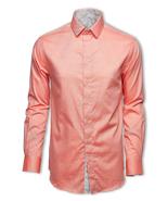 Skyrta JOORI Salmon pink shirt - $178.00