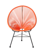 POLIVAZ ACAPULCO LOUNGE CHAIR - ORANGE - $365.75