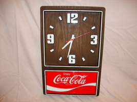 1970 OR BEFORE WORKING ELECTRIC COCA COLA CLOCK - $69.99