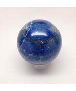 690 Grams 100% Natural Lapis Lazuli Crystal Sphere Handmade @Afghanistan... - $82.80