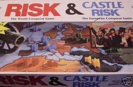 Risk Board Game/castle Risk Board Game 2 Board Games in 1 - $79.19