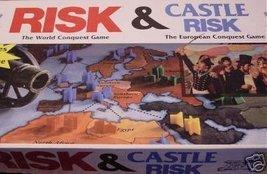 Risk Board Game/castle Risk Board Game 2 Board Games in 1 - $79.19