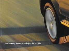 2003/2004 Volkswagen TOUAREG intro sales brochure catalog 04 VW V6 V8 - $10.00