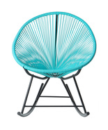 POLIVAZ ACAPULCO ROCKING CHAIR - BLUE - $345.54