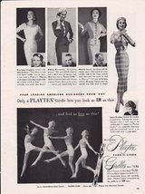 Playtex Fabric-Lined Invisible Girdles 1953 Vin... - $3.22