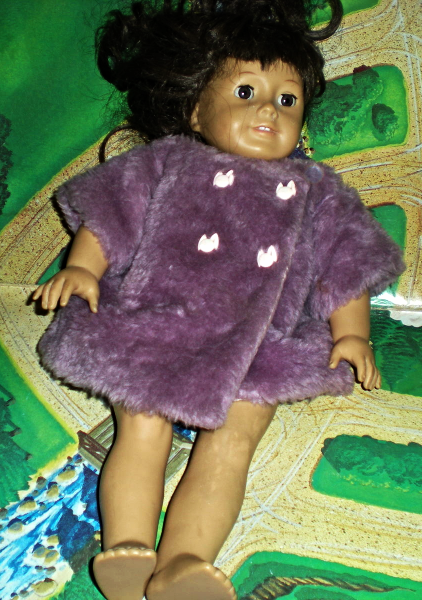 American Girl Doll -  Pleasant Company - Brown Hair and Brown Eyes 18 Inches tal image 3