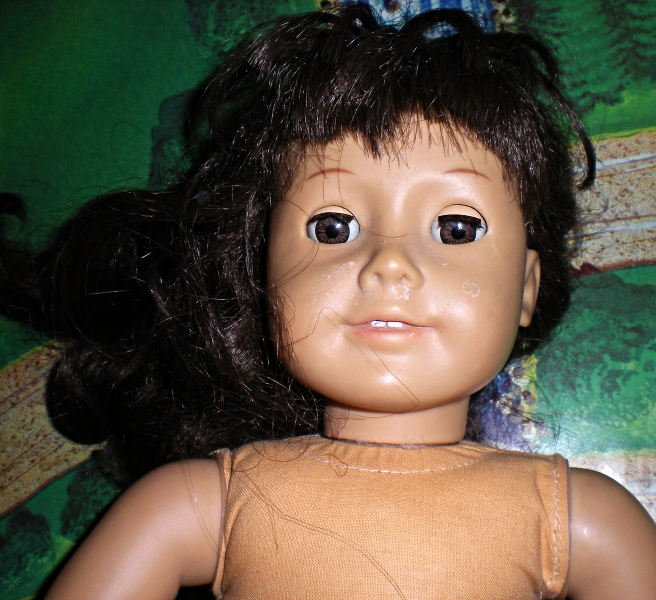 American Girl Doll -  Pleasant Company - Brown Hair and Brown Eyes 18 Inches tal image 7
