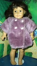 "American Girl Doll - Pleasant Company  Brown Hair & Brown Eyes 18"" tall retired - $50.00"