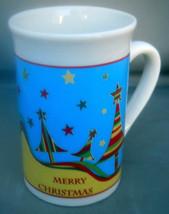 Royal Norfolk Holiday Mug Christmas Trees & Stars Design  12 fl. oz. Boxed - $20.78