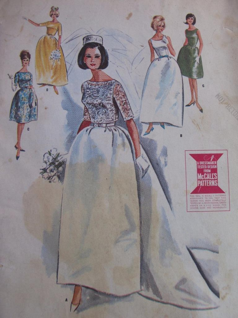 516f156353ae9a Mccalls Vintage Wedding Dress Patterns – DACC