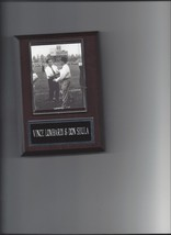 VINCE LOMBARDI & DON SHULA PLAQUE GREEN BAY PACKERS COLTS FOOTBALL NFL - $2.96