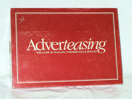 ADVERTEASING BOARD GAME 1988 TRIVIA RISCHER ENT... - $9.78