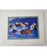 Poodles Print Cheer Leading Grooming Shop Find Pom Poms Colorful Collect... - $19.99