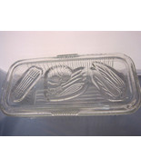 Clear Glass Refrigerator Container Storage Vintage Federal Glass Company 1 - $38.15