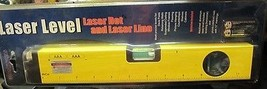 Aluminum Spirit Level With Laser Point 12 Inches  - $16.83