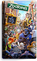 Zootopia Fox Nick Bunny Judy Sloth Flash Phone Jack Telephone Wall Plate Cover - $9.89